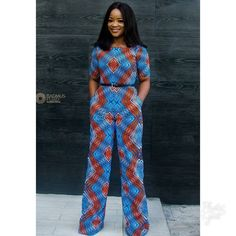 """2,719 mentions J'aime, 4 commentaires - Ankara Styles By Mawuli (@ankarastyles) sur Instagram: """"Credit to @iamnini1 Jumpsuit @houseofnini1  @photographybyfuad MUA @makeupbynuvie Hair by…"""""""