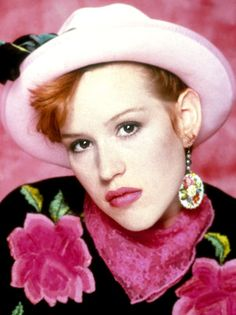 Molly Ringwald pretty in pink...