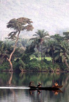 Beautiful nature in Ghana