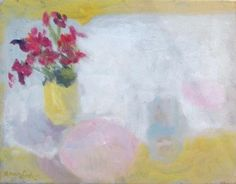 Alice Mumford - Sweet Williams and Pink Plate