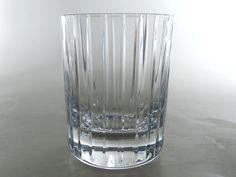 BACCARAT Kristallglas ° sign. Whiskey Glas ° Modell Harmonie ° France tumbler