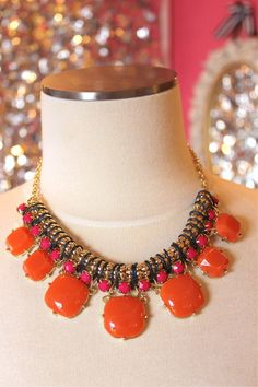 Gum Drop Statement Necklace