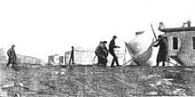 1901, Marconi claims the first transatlantic wireless signal. Marconi watches associates raise kite antenna at St. John's, December 1901. The message is received at Signal Hill in St John's, Newfoundland (now part of Canada), via signals transmitted by the company's new high-power station at Poldhu, Cornwall.
