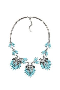 Feathered Azuli Necklace