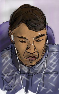 Danny Mooney 'iPod' Digital drawing