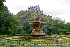 Sure, Princes Street Gardens are a beautiful, relaxing place now. But it's history is a little darker. Image courtesy of Shutterstock.