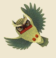 'Owl' by Sayamis