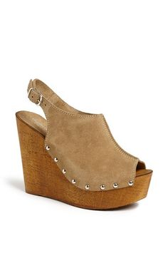Free shipping and returns on Charles David 'Tahnee' Sandal at Nordstrom.com. Gleaming studs punctuate a saucy suede slingback atop a towering, wooden-look platform wedge.