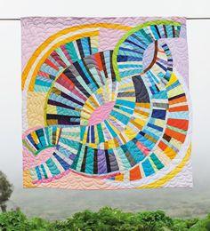 Sherri Lynn Wood — Freestyle Patchwork, 2014 from The Improv. Quilt Inspiration, Colour Inspiration, Quilt Modernen, Art Plastique, Sewing Techniques, Quilt Making, Quilt Blocks, Fiber Art, Quilt Patterns