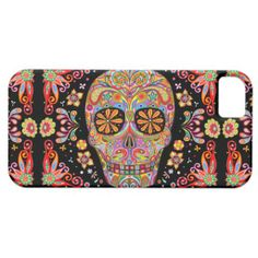 Day of the Dead Art iPhone 5 Case by Case-Mate iPhone 5 Cover