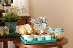 Chá de bebê com o tema Balonismo! Ideias e inspirações de como fazer o seu chá de bebê.
