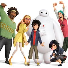 Big Hero 6 wins Oscar for Best Animated Feature. Lego Movie may have been the crowd's favorite animated film this year, but Big Hero 6 wins the Oscar Hero 6 Movie, I Movie, Lego Movie, Character Design Cartoon, 3d Character, Film Disney, Disney Art, Disney Songs, Disney Memes