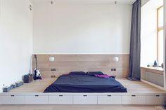 Eine Minimale Einzimmerwohnung für 2 Personen | doDEKO.de