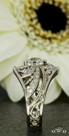 Every angle of this ring is gorgeous! Green Lake Jewelry