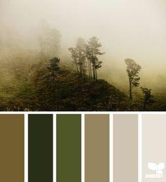 Misty palette | design seeds | Bloglovin