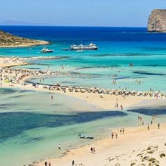 BALOS LAGOON, CRETE. Visit the incredible #baloslagoon, on #crete!   By @vasso_tsoulou. Congratulations