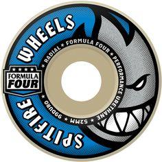 Spitfire Formula Four Radials wheels 54mm 99d