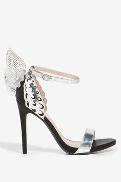 Wings Fly High Heel