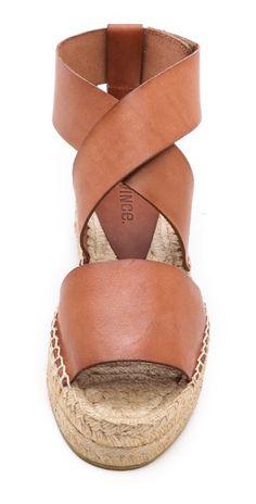 Vince Elise Espadrille Flat Sandals | SHOPBOP