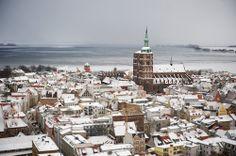 Stralsund, in Western Pomerania, Germany, by Johannes Leistner on flickr