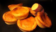 Sweet Potato Cupcakes, or Queijadas de Batata Doce, are an interesting and unique take on Portuguese queijada pastries.