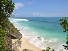 Balangan beach in Bali Indonesia