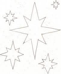 star templates for christmas