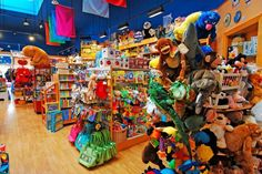 A bunch of small toy stores in the Bay Area!