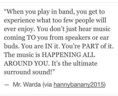 Band, especially when I catch myself tapping to the beat and counting along in my head. Band Nerd, Nerd Geek, Music Jokes, Music Humor, Marching Band Quotes, Marching Band Problems, Band Jokes, Love Band, Band Fun