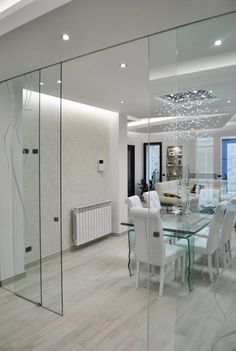 MoLo house: Sala da pranzo in stile in stile Moderno di Salvatore Nigrelli Architetto Living Room Modern, Living Room Designs, Living Room Decor, Dining Room, Home Interior Design, Interior Decorating, Studio Floor Plans, Internal Sliding Doors, Flur Design
