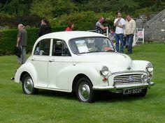 Vintage Car - Morris Minor [EJH 922F] 110710 Leighton Hall 1