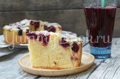 Венский вишнёвый пирог в мультиварке - пошаговый рецепт с фото