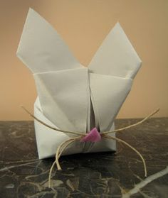 Marvelously Messy : Origami Spring Bunny Craft