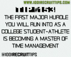 Follow @1001RecruitTips to get behind-scene tips to earn college athletic scholarships! Your #1 source for earning sport scholarships if you play HS sports!