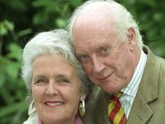 Graham Crowden with Waiting for God co-star Stephanie Cole []