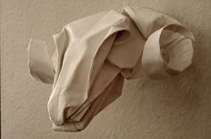 mabona origami  @Haidee Lorrey - this is what we should have done for the Burns Supper!