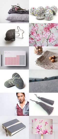 Cherry Blossom... by Rita Szöllősi on Etsy--Pinned with TreasuryPin.com