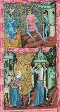 Bible Václava IV. byla vytvořena mezi roky 1390 a 1400 v České království