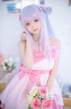 Sagiri by SeeU Cosplayer Kawaii Cosplay, Anime Cosplay, Cute Cosplay, Amazing Cosplay, Cosplay Outfits, Best Cosplay, Cosplay Girls, Cosplay Costumes, Cute Kawaii Girl
