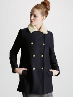 Manteau style duffle coat femme