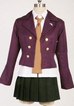 FOCUS-COSTUME DanganRonpa Kirigiri Kyoko suit skirt Cosplay Costume *** Visit the image link more details.