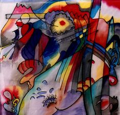 293, 1913. Wassily Kandinsky #kandinsky #kandinski #abstractart #Abstract #abstractpainting #abstractartist #russianart #painting #wassilykandinsky