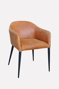 Super comfortable armchair design.