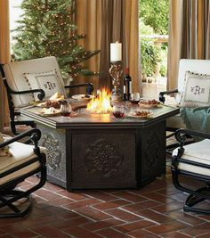 Bring warm sophistication to your outdoor area.