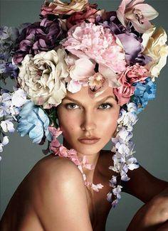 Bountiful Flower Headress