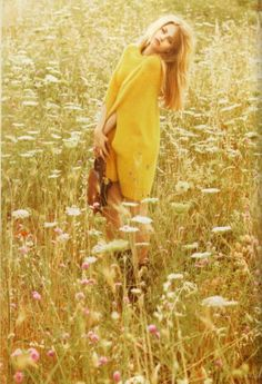 The essence of beauty and to be care free ... a daydreamer!  A long lost art of sorts...