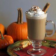 Cinnamon bun white hot chocolate yummmm!
