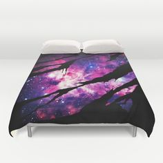 Deep Space Inside Duvet Cover by Augustinet | Society6