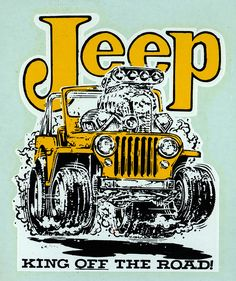Jeep is made for off roading! Goodtimes
