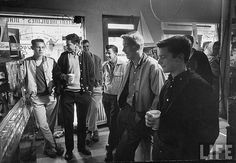 Teen hangout 1958